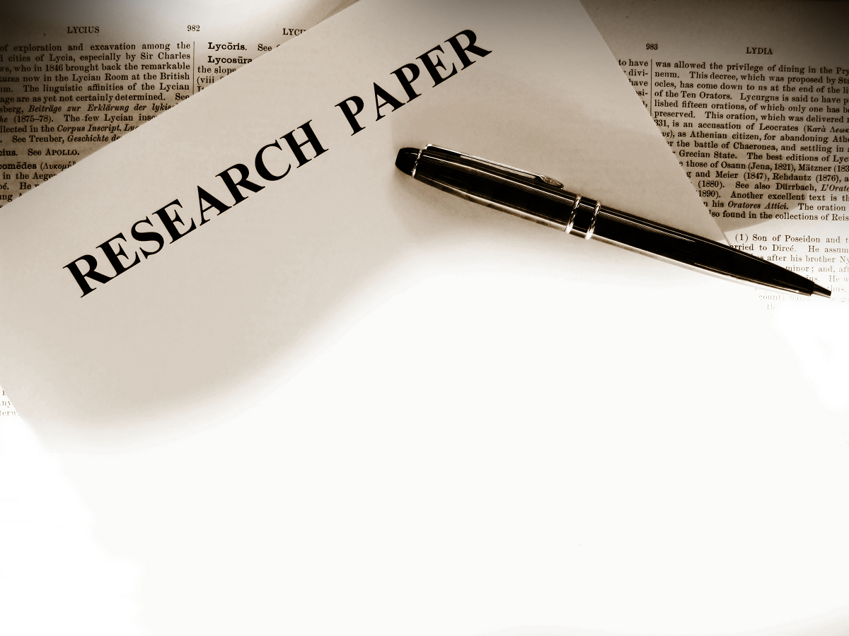 good authors to do a research paper on